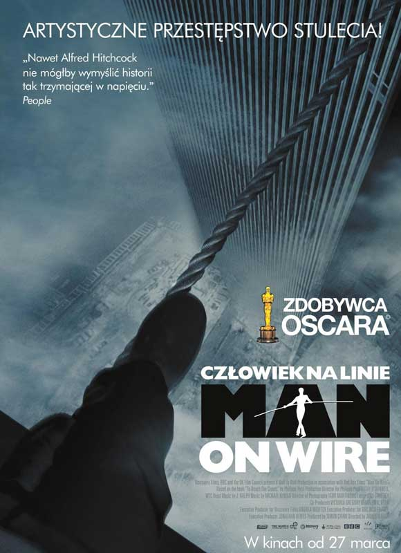 MAN ON WIRE, by James Marsh – 2008 | Cinematiki Maui