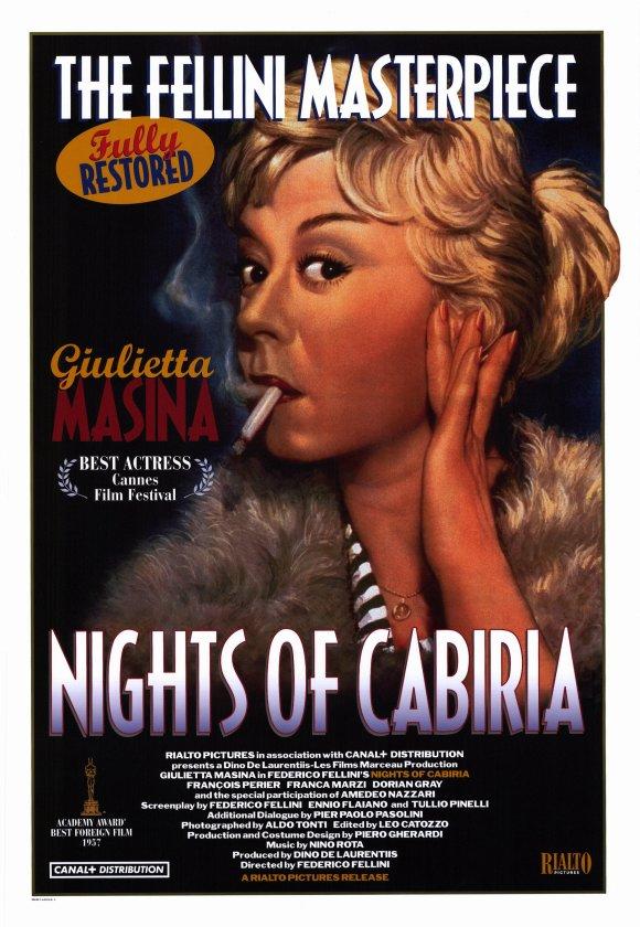 Αποτέλεσμα εικόνας για nights of cabiria (1957)