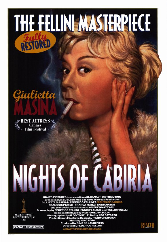 NIGHTS OF CABIRIA, by Federico Fellini