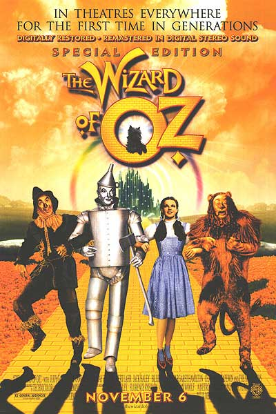 THE WIZARD OF OZ....directed by V. Fleming