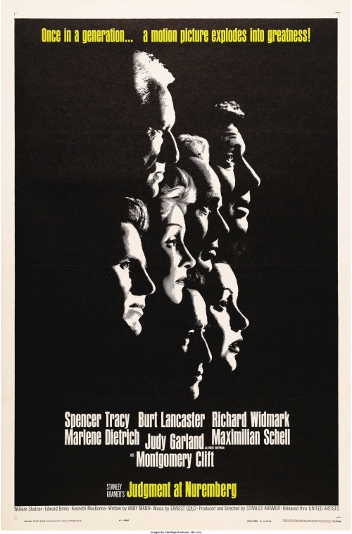 Judgment-at-Nuremberg-United-Artists-1961.-One-Sheet
