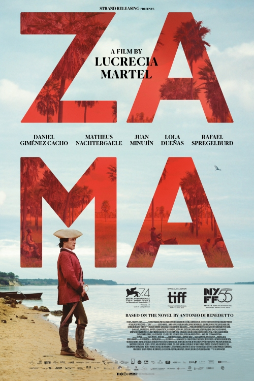 ZAMA film graphic